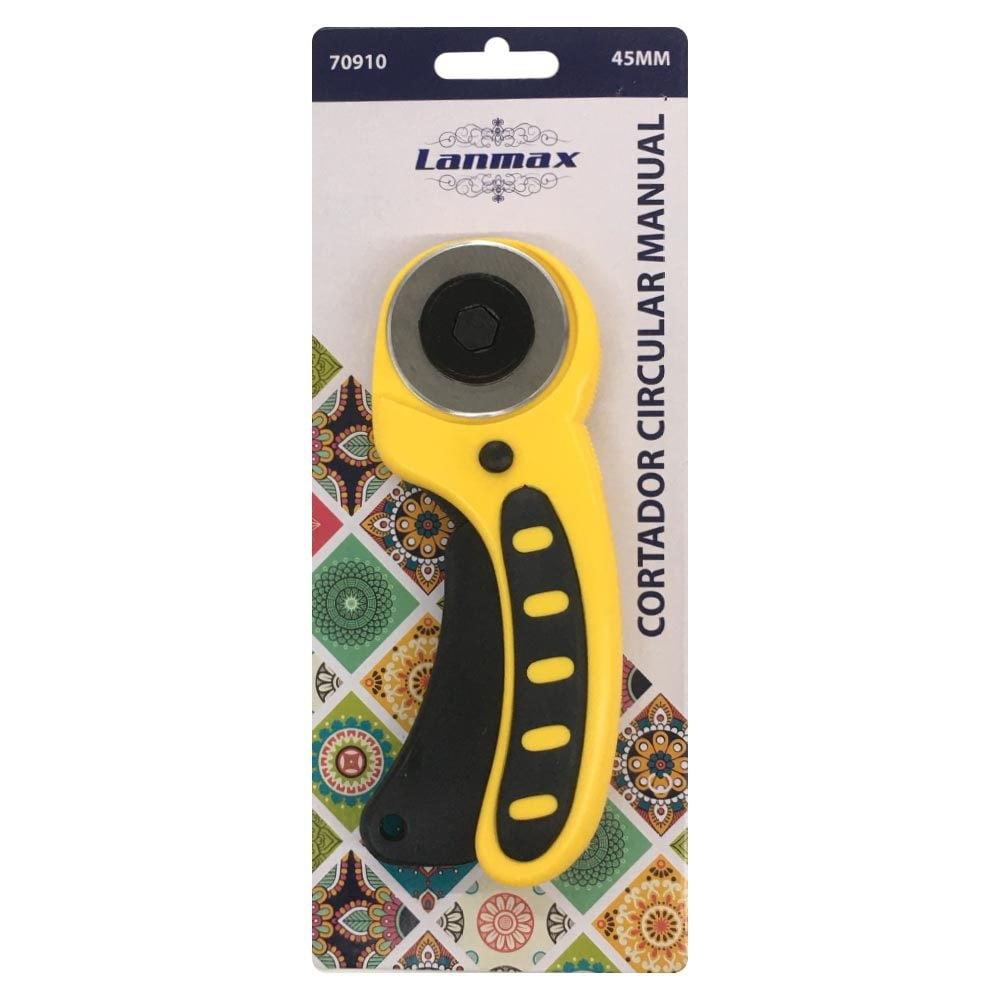 Cortador Circular 45mm  Profissional Amarelo Lanmax p24347