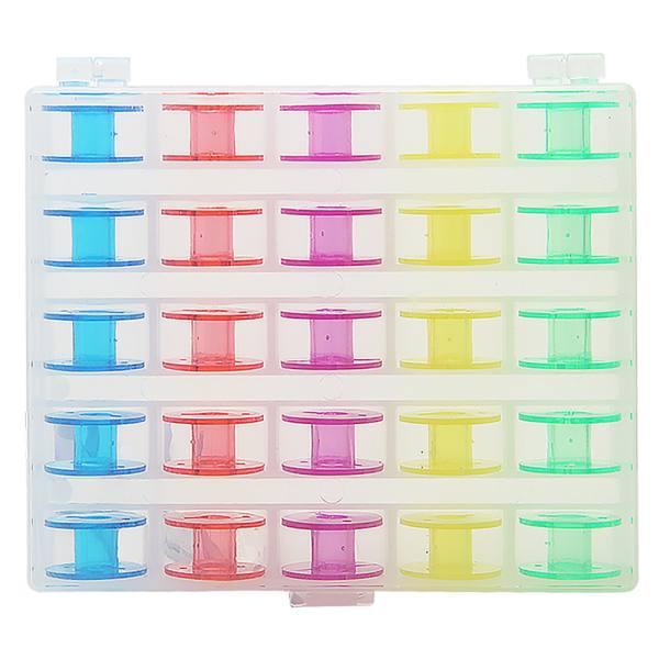 Estojo com 25 Carretilhas Coloridas p20399