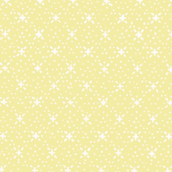 Tecido Tricoline Estampado Soul 6 Amarelo Claro 180717