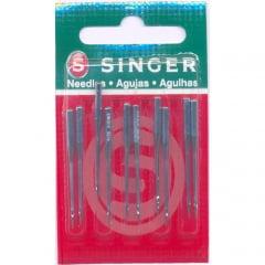 Agulha de Maquina Singer para Overlock 6120 Nº09 10unid