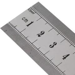 Régua de Aço Inox 30cm - Lanmax p23561
