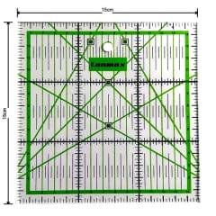Régua para Patchwork 15x15cm -  p20387