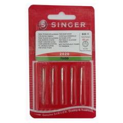 Agulha de Máquina Singer 2020 70/09 Comum N.09 (5 unidades)
