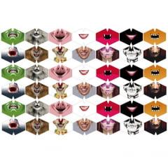 Máscaras de Tecido Tricoline Digital Sortidas 42 Estampas (Tamanho P) 9017e039
