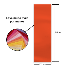Tiras de Tecidos Tricoline Liso Jelly Rolls  (12cm) Tl2412
