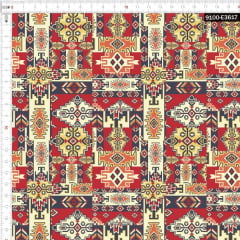 Tecido Tricoline Digital Africano Nativo 9100e3617
