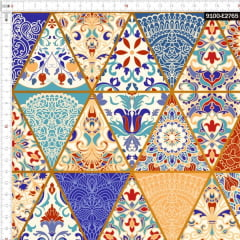 Tecido Tricoline Digital Geométrico Otomano 9100e2765