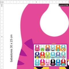 Tecido Tricoline Digital Babadores Personalizados Monstrinhos 9100e3768