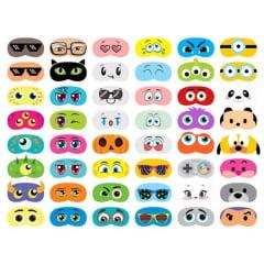 Tecido Tricoline Digital Máscaras para Dormir 9100e3769