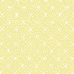 Tecido Tricoline Mista Estampado Soul 6 Amarelo Claro 180717