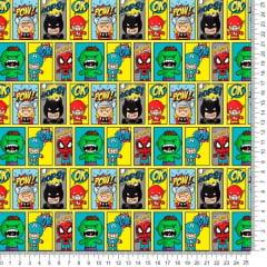 Tecido Poliéster Estampado Herois Kids RA60805LY