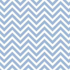 Tecido Tricoline Mista Chevron Azul e Branco 14536c3
