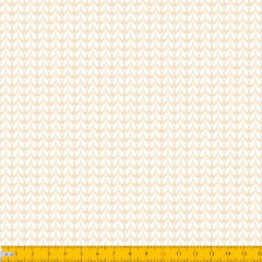 Tecido Tricoline Estampado Tricot Bege 2012v06