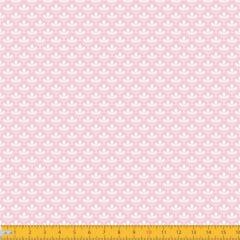 Tecido Tricoline Estampado Mini Floral Lírio Real Rosa 1195v081