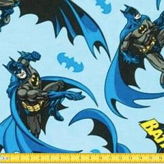Tecido Tricoline Estampado Batman 23315
