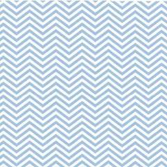 Tecido Tricoline Estampado Chevron Azul Claro 1209vr06