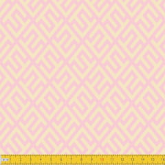 Tecido Tricoline Estampado Elegance Rosa Must Have 1240v09