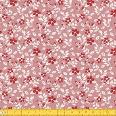 Tecido Tricoline Estampado Floral Miúdo 2008v05