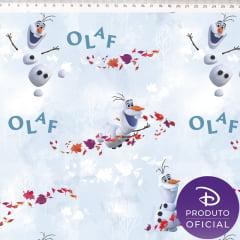 Tecido Tricoline Digital Estampado Frozen Olaf FR005C01