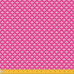 Tecido Tricoline Estampado Mini Floral Lírio Real Fundo Pink 1195v108