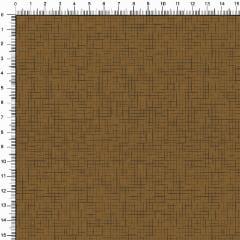Tecido Tricoline Estampado Textura Bege Escuro 1725-16