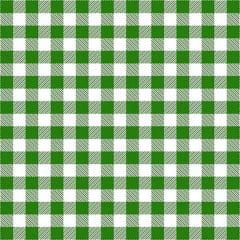 Tecido Tricoline Estampado Xadrez Verde 2213v1
