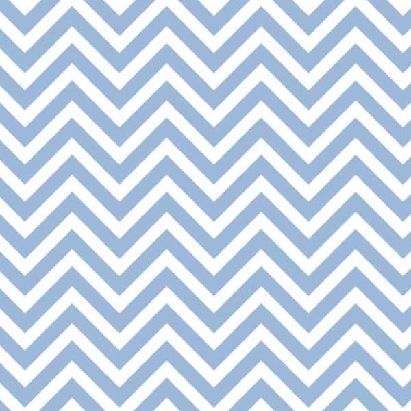 Tecido Tricoline Estampado Chevron Azul e Branco 14536c3